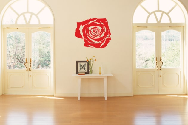 Wallstickers Blomster