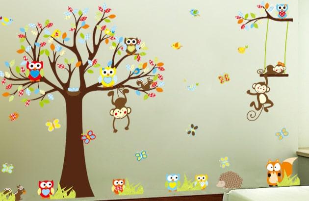 Træer med dyr