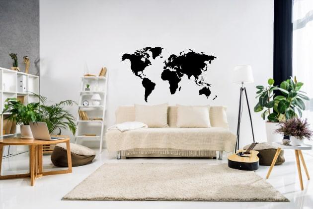 Verdenskort og Rejser