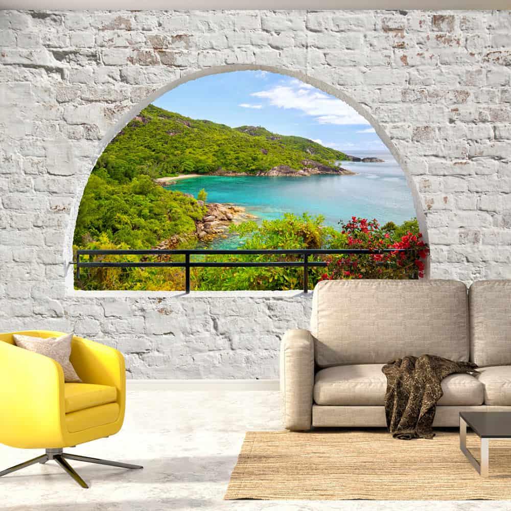 Fototapet Emerald Island
