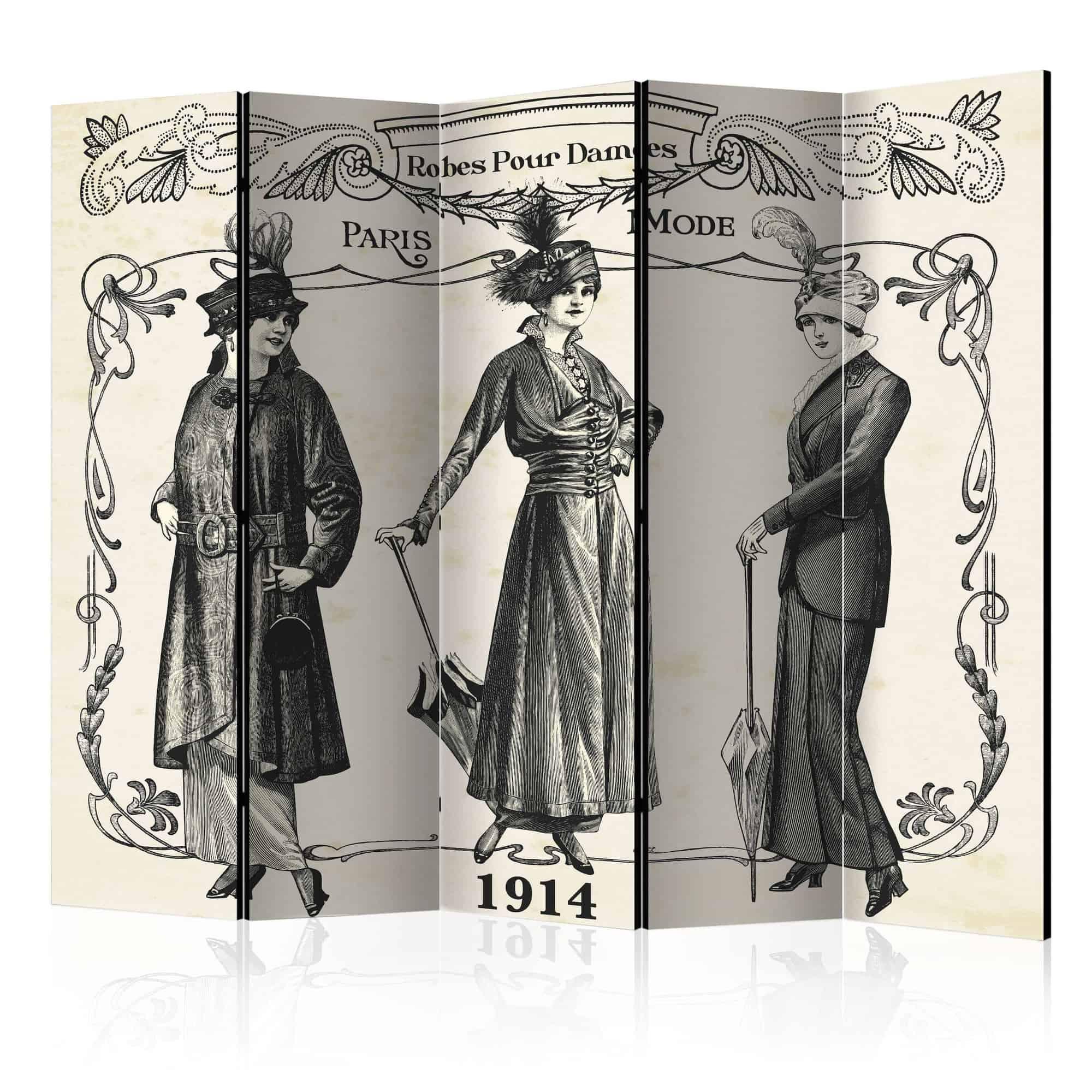 Skærmvæg Dress 1914 II