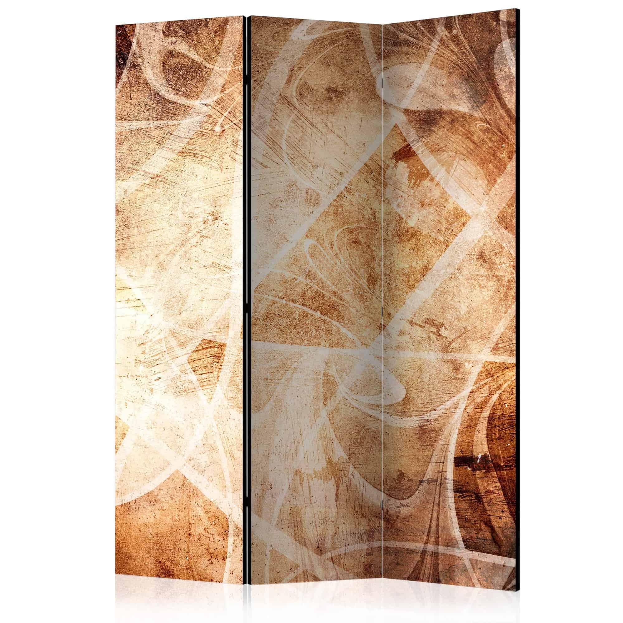 Skærmvæg Brown Texture