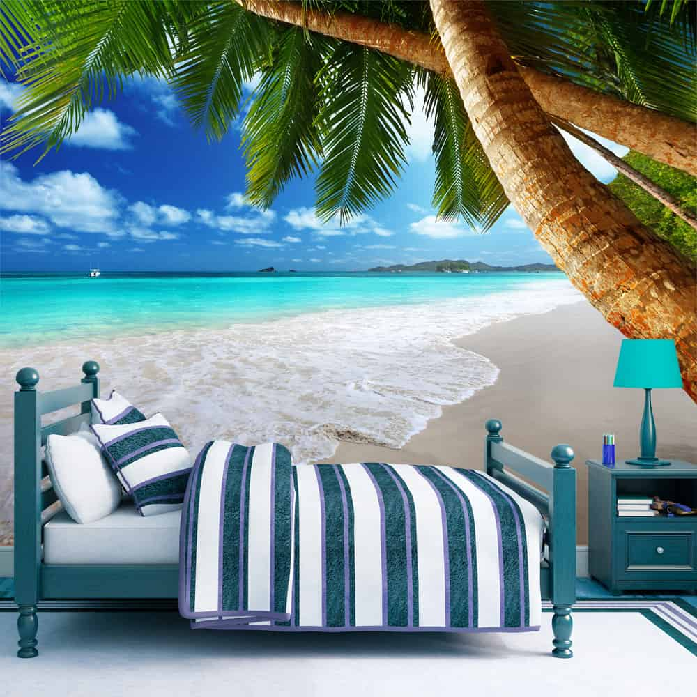 Fototapet Tropical island