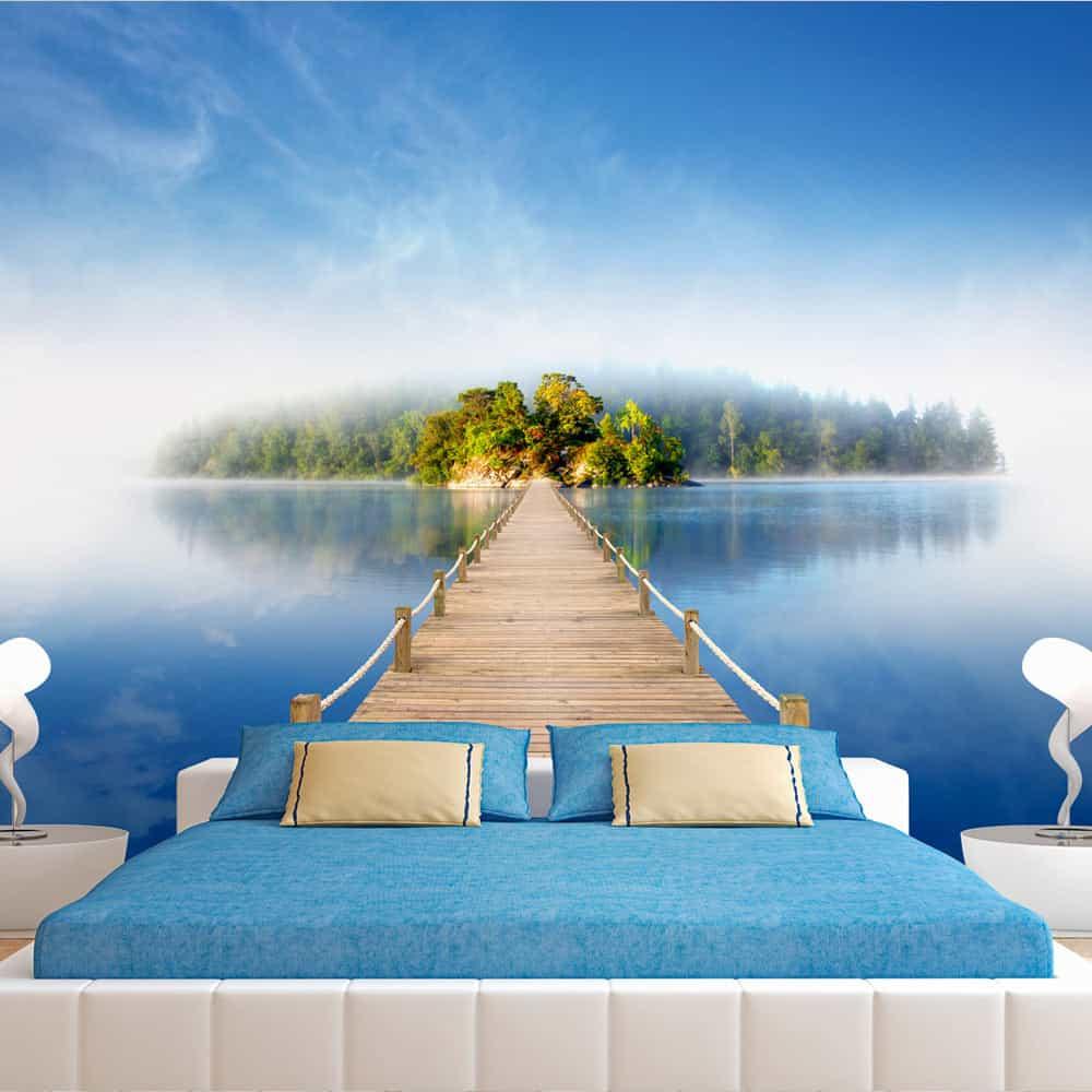 Fototapet Mysterious island