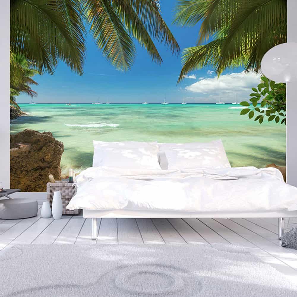 Fototapet Relaxing on the beach