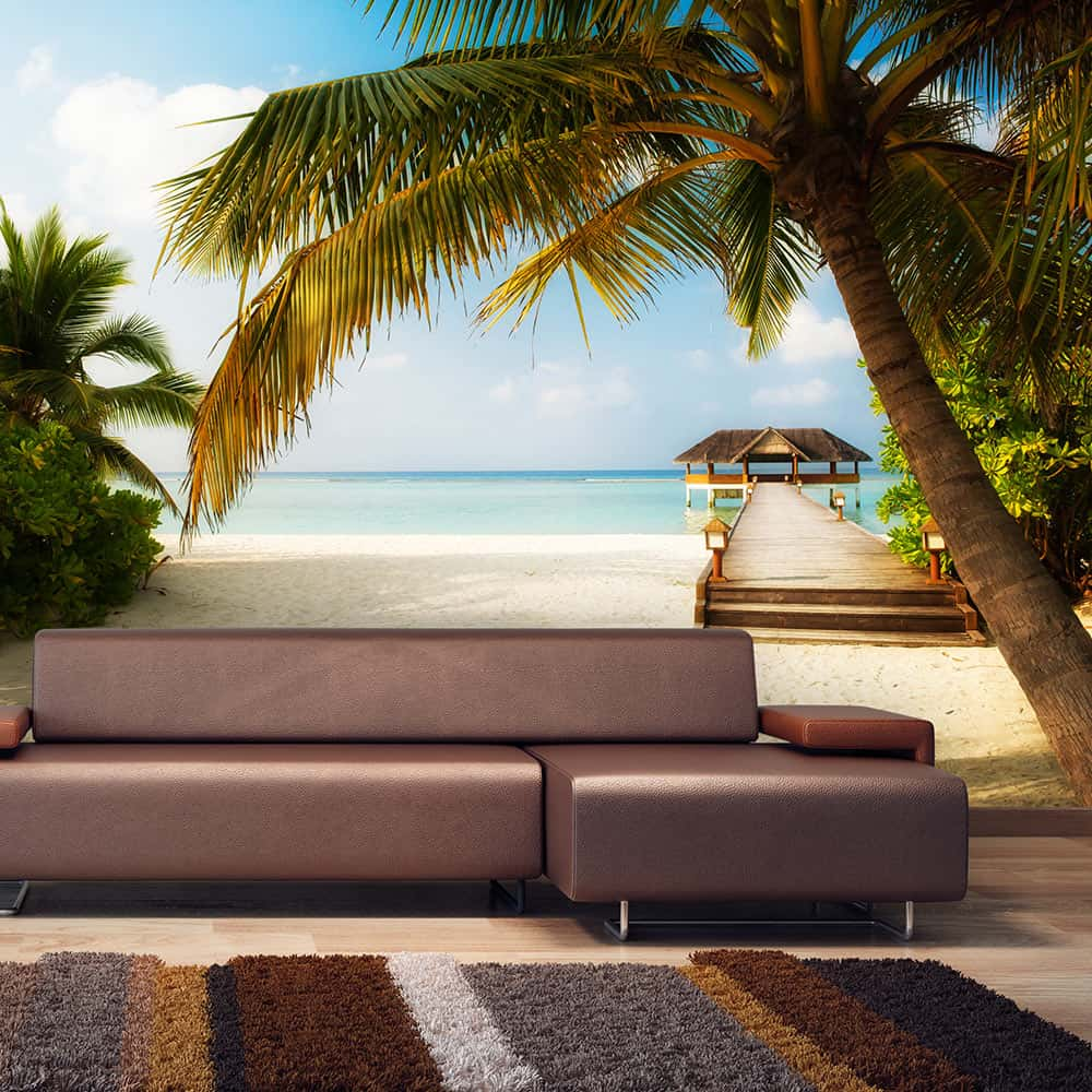 Fototapet Paradise beach