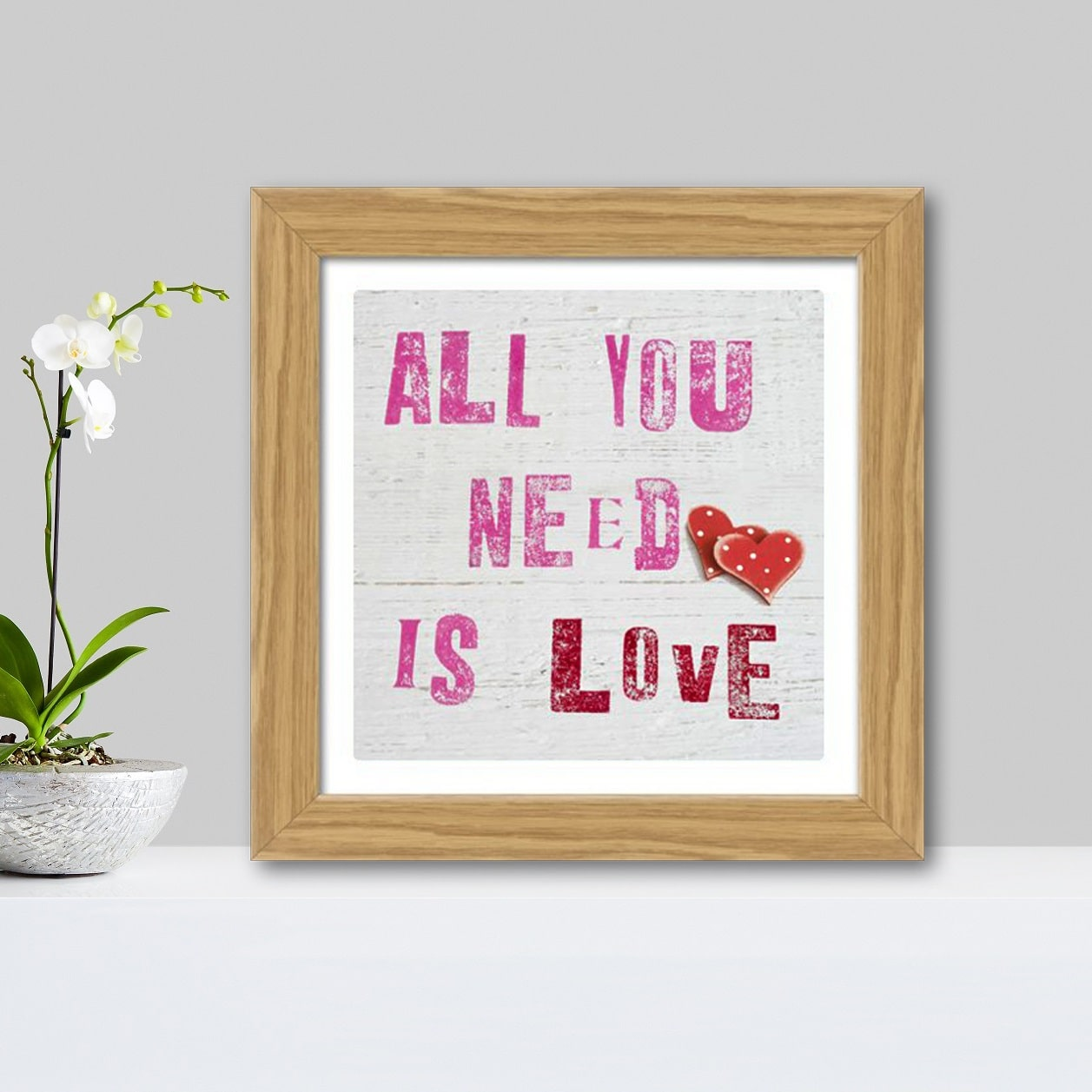 Plakat All You need is Love thumbnail