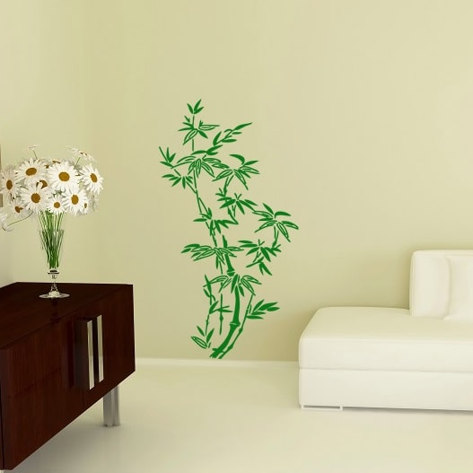 Wallsticker Bambus