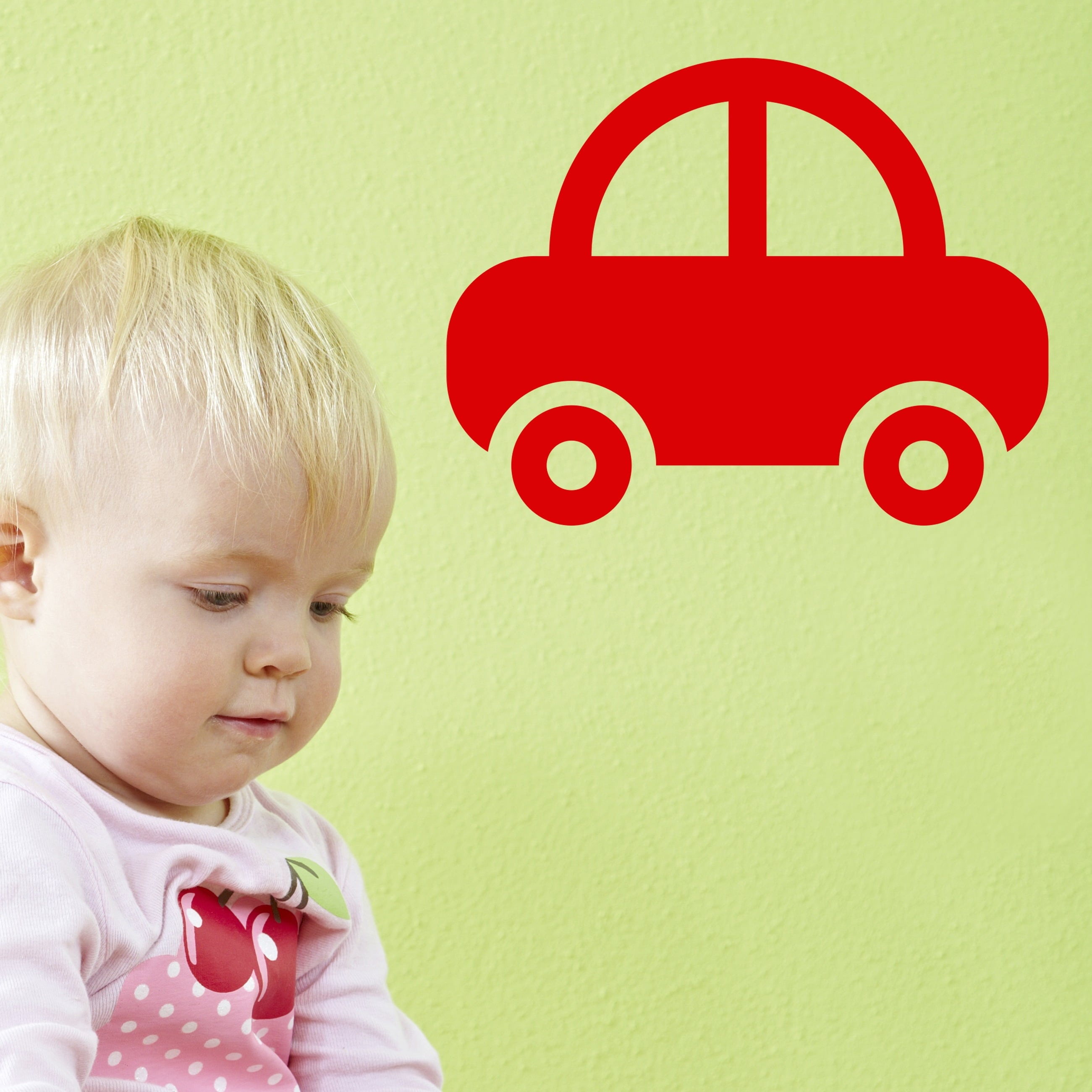 Image of   Wallsticker Bil til børneværelset