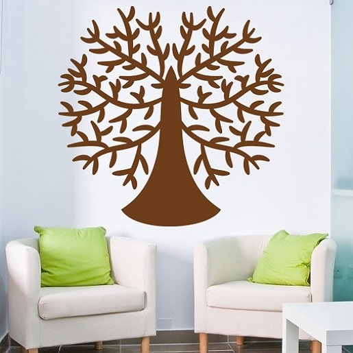 Wallsticker Cirkeltræ