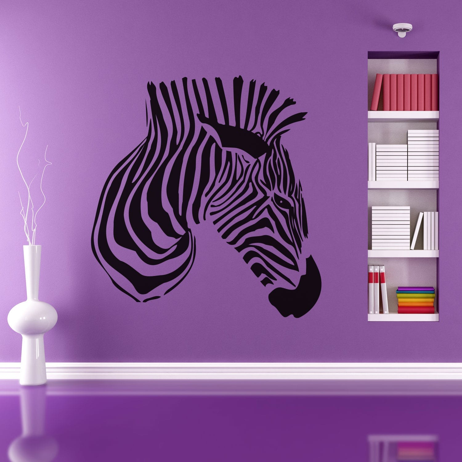 Wallsticker Cool Zebra
