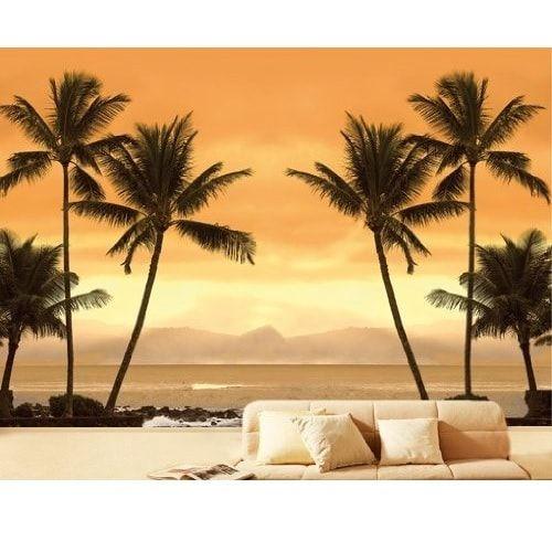 Strand i Caribien - Foto tapet - Foto stat