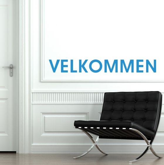 Wallstickers - Velkommen - NiceWall.dk