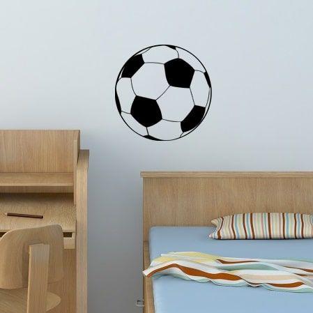 Wallsticker Fodbold - NiceWall.dk