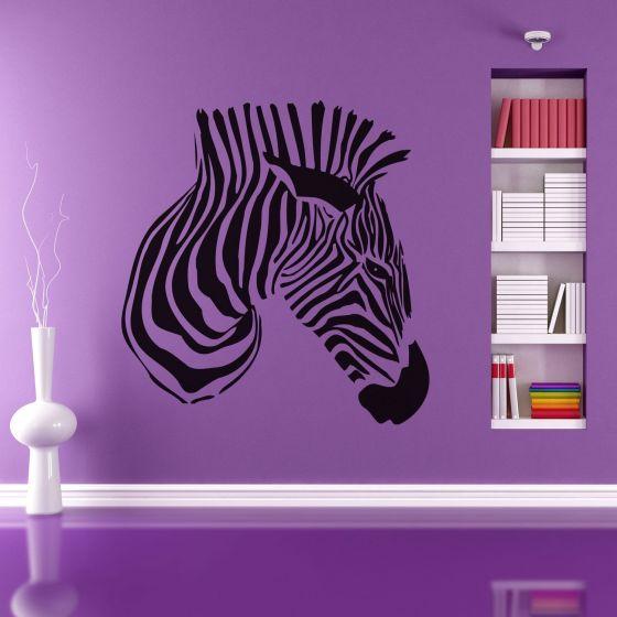 Wallsticker Cool Giraf - NiceWall.dk