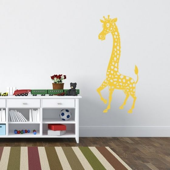 Wallsticker Giraf til Børneværelset - NiceWall.dk