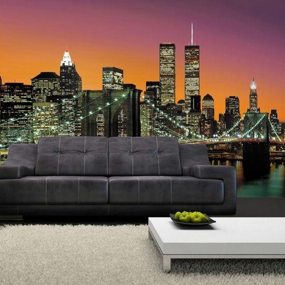 Manhattan Skyline - Foto tapet - Foto stat