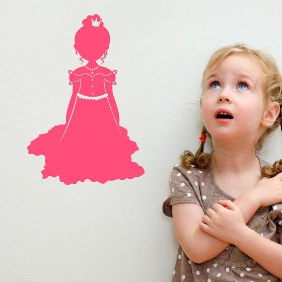 Wallsticker Prinsesse - NiceWall.dk