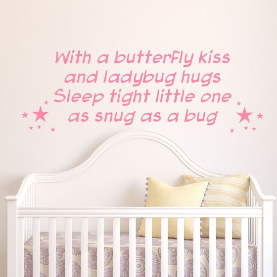 Sleep Thight Little One- Wallstickers fra NiceWall.dk
