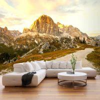 Beautiful Dolomites fotostat - flot foto tapet til væggen