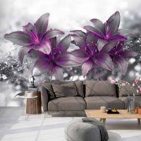 Secret of the Lily fotostat - flot foto tapet til væggen