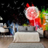 Colourful Element fotostat - flot foto tapet til væggen
