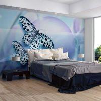 Planet of butterflies fotostat - flot foto tapet til væggen