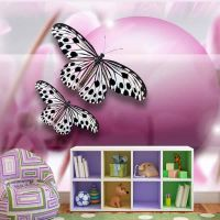 Fly, Butterfly! fotostat - flot foto tapet til væggen