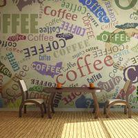 The fragrance of coffee fotostat - flot foto tapet til væggen