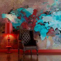 The earth without art is just 'eh' fotostat - flot foto tapet til væggen
