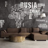 Spanish geografi fotostat - flot foto tapet til væggen