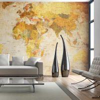 Old globe fotostat - flot foto tapet til væggen