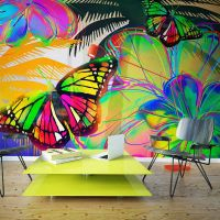 Butterflies in the stomach fotostat - flot foto tapet til væggen