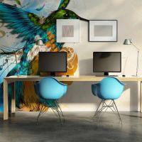 Marvelous bird fotostat - flot foto tapet til væggen