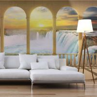 Dream about Niagara Falls fotostat - flot foto tapet til væggen