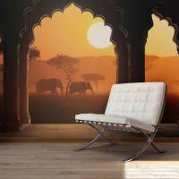 Hear Africa fotostat - flot foto tapet til væggen
