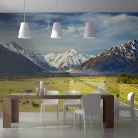 Southern Alps, New Zealand fotostat - flot foto tapet til væggen