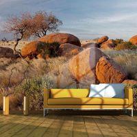 Afrikansk landskab, Namibia fotostat - flot foto tapet til væggen