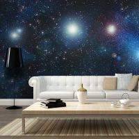 Milliarder af klare stjerner fotostat - flot foto tapet til væggen
