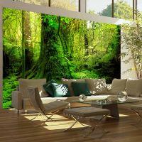 Jungle fotostat - flot foto tapet til væggen