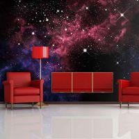 space - stars fotostat - flot foto tapet til væggen