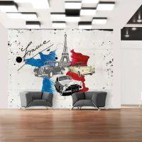 Admirer of cars (France) fotostat - flot foto tapet til væggen