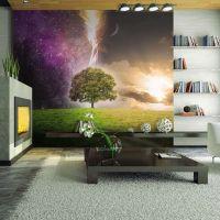 Magic tree fotostat - flot foto tapet til væggen
