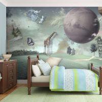 Fremtidens by fotostat - flot foto tapet til væggen