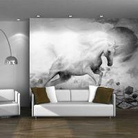 Unicorn fotostat - flot foto tapet til væggen