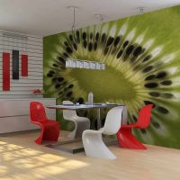 fruits: kiwi fotostat - flot foto tapet til væggen