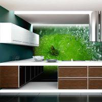 Grøn æble fotostat - flot foto tapet til væggen