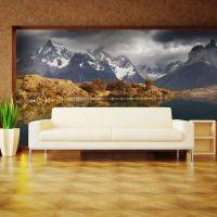 Torres del Paine National Park fotostat - flot foto tapet til væggen