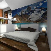 Mount Fitz Roy, Patagonia, Argentina fotostat - flot foto tapet til væggen