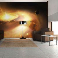 Galactic Center of the Milky Way fotostat - flot foto tapet til væggen
